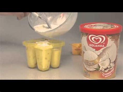 como hacer paletas de naranja con bombn youtube paletas con helado holanda youtube