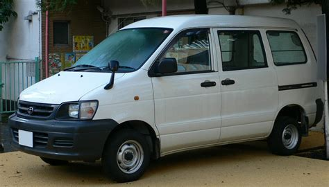 Toyota Commercial Vans Toyota Town Ace Light Trucks Commercial Vehicles