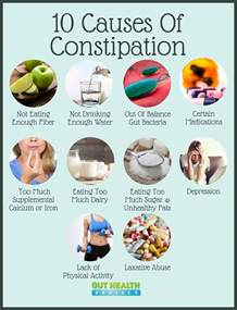 10 causes of constipation and what to do about it