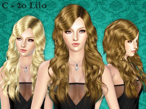 download new hairstyles for sims 3 free cazy s hairmesh 20 female