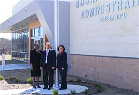 Social Security Office On Road by Social Security Administration Opens New Office To Serve