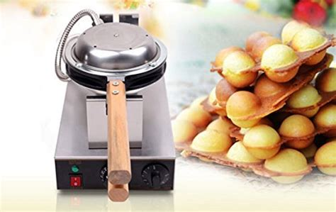Egg Waffle Pan Cetakan Egg Waffle newtry fy 6 electric stainless steel eggettes