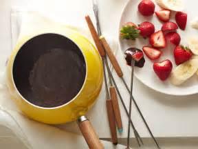 Ina Garten Chocolate Fondue by Chocolate Fondue Recipe Ellie Krieger Food Network