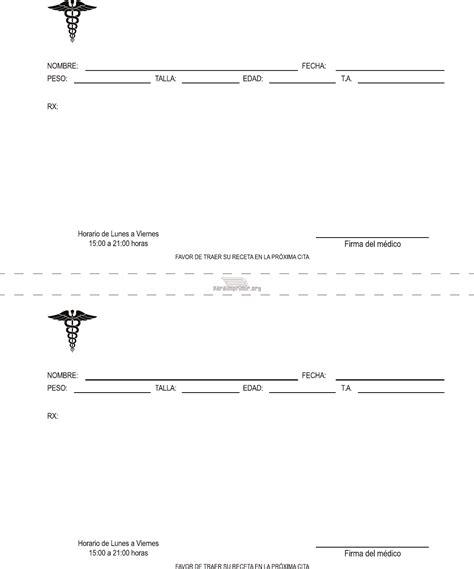 imagenes de recetas medicas para imprimir formato de receta medica doc pertamini co