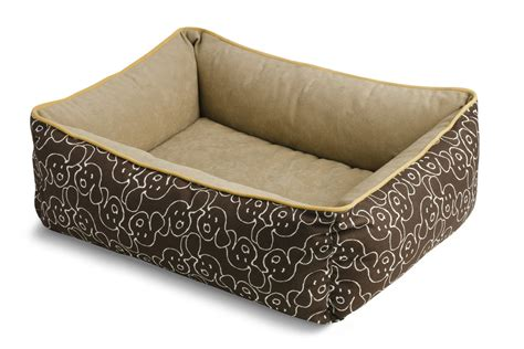 crypton dog bed crypton dog ear twig bumper bed at gardner white