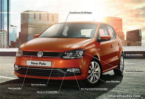 volkswagen polo headlights modified 2014 vw polo facelift launched starts from rs 4 99 lakh