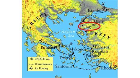 troy usa map troy kreikka kartta kartta kreikan troy etel 228