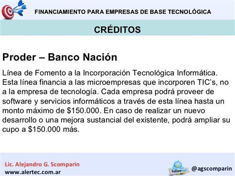 prestamos personales para auh banco nacion creditos microempresas banco nacion