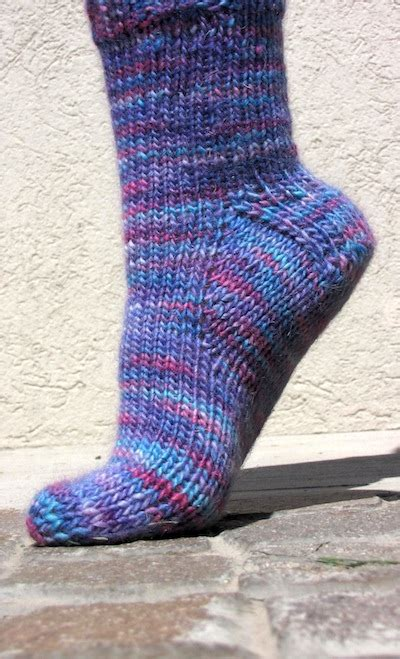 pattern knitting socks worsted weight sock pattern toe up top down knitfreedom