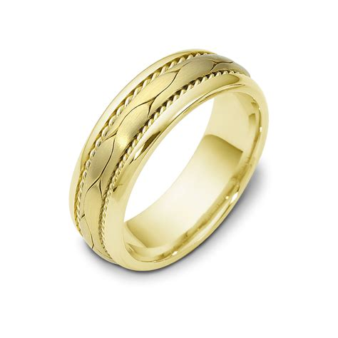 Rope Wedding Bands by Braid With Rope Wedding Band