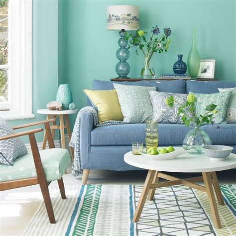 Living Rooms In Blue by Green Living Room Ideas For Soothing Sophisticated Spaces