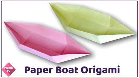 origami boat from a square how to make an origami boat with a square piece of paper
