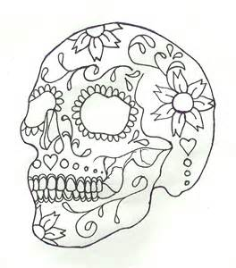 sugar skull coloring free coloring pages of suger