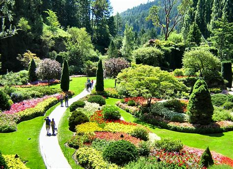 butchart gardens vancouve dishin some dirt on great gardens inside nanabread s head