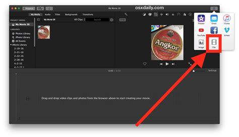 membuat video dengan imovie cara merekam video di mac dengan imovie insightmac