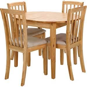 hygena emmett extending oak dining table 4 green chairs