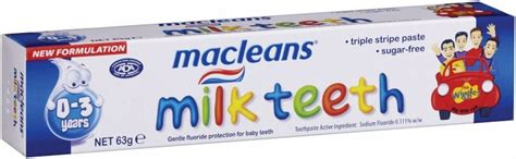Macleans Teeth Toothpaste 4 6years not found