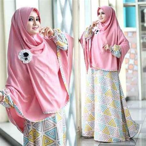 Baju Muslim Syari Grosir Baju Muslim Model Gamis Dan Syar I Laudia Syar I