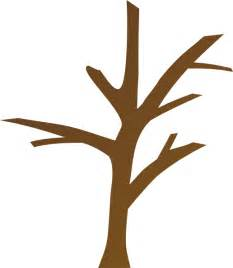 Bare Tree Template by Tree Trunk Template Clipart Best