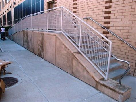 Galvanized Handrail by Steel Railing Systems Ametco Manufacturing