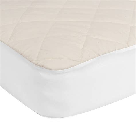 cotton crib mattress pad sealy quilted fitted crib mattress pad with organic cotton