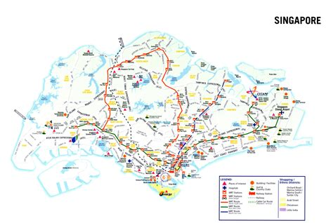 singapore on a map maps update 20001508 singapore tourist map singapore