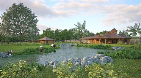 Modern Hosue by The Asian Sanctuary Fota Wildlife Park Pedersen Focus