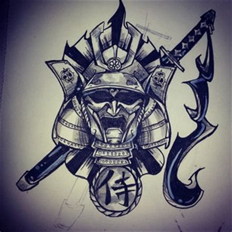 samurai tattoo concept by alanwolfe on deviantart