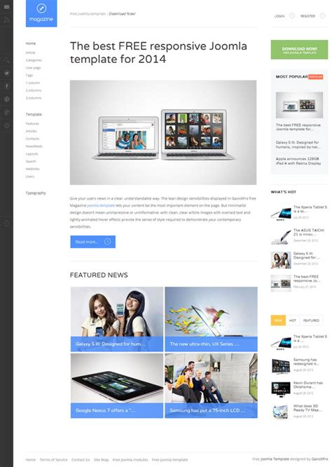 free bootstrap templates for joomla 2 5 download template for joomla 1 5 2016