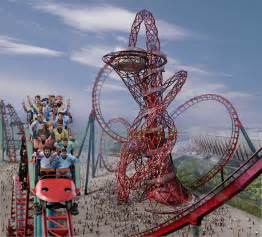 Roller Coaster Arcelormittal Orbit As The Backbone Of Olympics