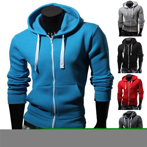 Jacket Hoodie Zipper Switeer Vans hill herren kapuzen jacke 85319 sweatjacke zipper