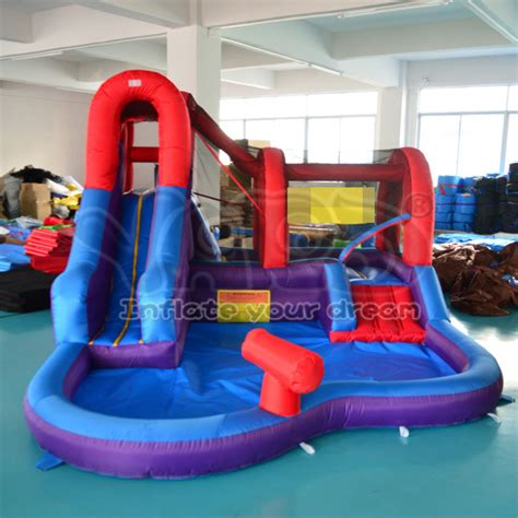 backyard water slides for kids dhl free shipping inflatable water slide for kids outdoor toys for children water pool