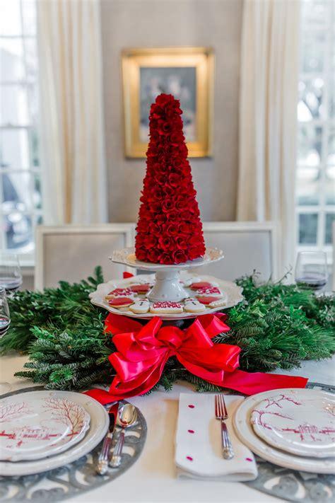 juliska christmas trees winter frolic tablescape tablescape with juliska