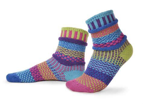 mismatched socks solmate bluebell recycled cotton mismatched socks turkish bath