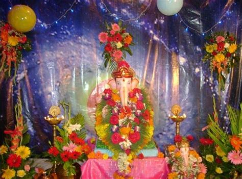 decoration themes for ganesh festival at home mikeliveira s space ganesh chaturthi 2012 decoration