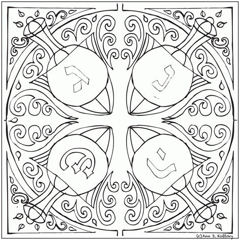 hanukkah coloring pages printable hanukkah coloring page coloring home