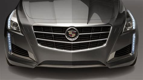 Cadillac Cts Grills by 2014 Cadillac Cts Debuts With Turbo V6 And Striking