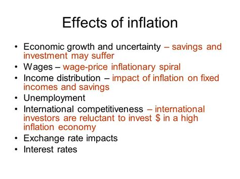 unemployment effect on gdp inflation ppt download