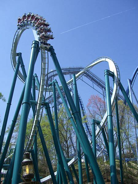 Busch Gardens Roller Coasters Va by 10 Most Loop The Loop Roller Coasters On Earth