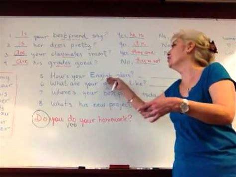 preguntas y respuestas largas en ingles presente simple repaso forma interrogativa verbo to be y respuestas cortas