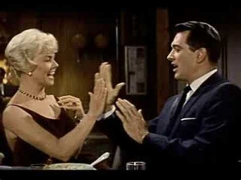Who Sang Pillow Talk by Roly Poly From Pillow Talk Doris Day Rock Hudson