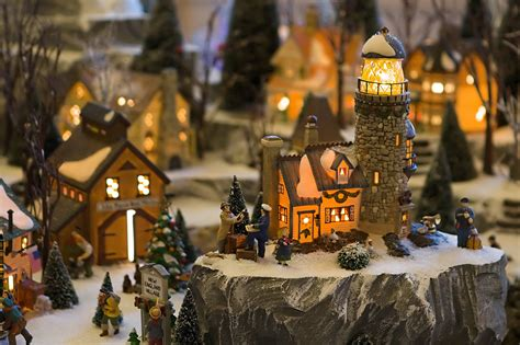 17 stunning christmas village miniature my visual home