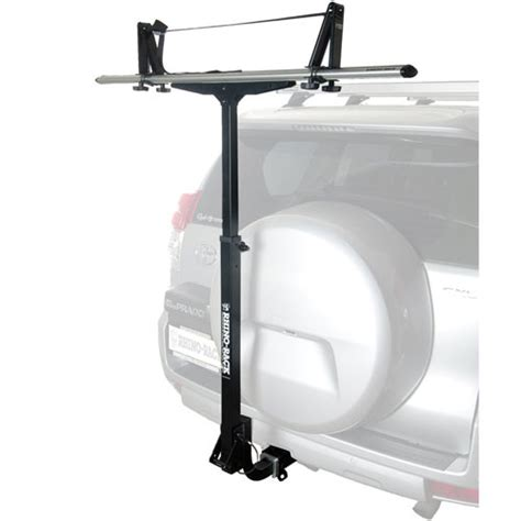Kayak Rack For Trailer Hitch by Rhino Rack Rtl002 T Load Trailer Hitch Receiver Mount