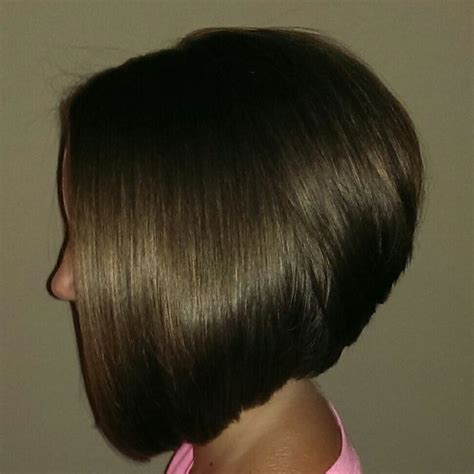 back viws of stacked inverted bob stacked bob hairstyles back view category hc inverted