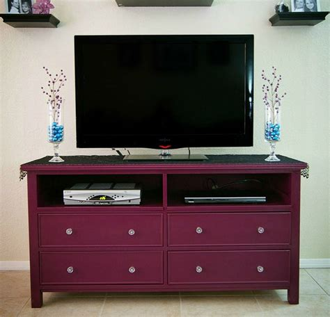 bedroom entertainment dresser such a cute tv stand like the purple decor pinterest