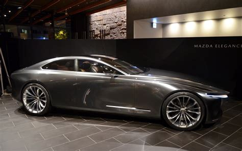 mazda vision coupe a new vision of elegance the car guide