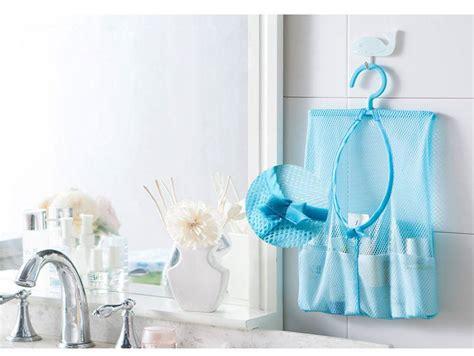 Kantong Mesh Kamar Mandi kantong jaring kamar mandi multifungsi dapatkan berbagai fungsi penting dari 1 kantong cantik