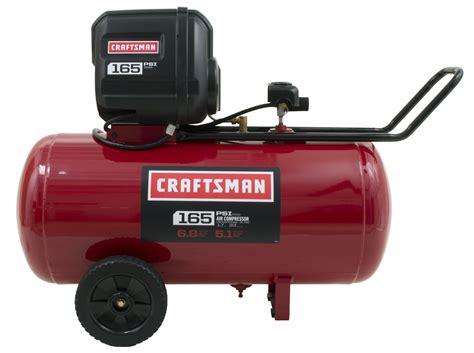 Craftsman 33 Gallon 1.7 HP Oil Free Horizontal Air Compressor 165 Max PSI   Shop Your Way