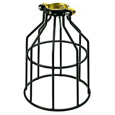 Light Cage by Light Bulb Cage Black Plt Mc200