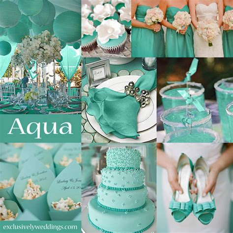 aqua green wedding ideas 10 awesome wedding colors you haven t thought of